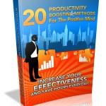 20 Productivity Boosting