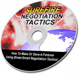 Surefire Negotiation Tactics