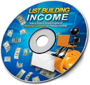 List Buiding Income