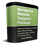 Wordpress Minisite Template