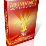 Abundance And The Art Of Giving