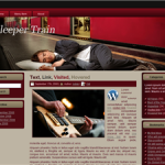 Sleeper Train Wordpress Theme