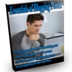 Free Blogging MRR Ebook