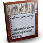 Free Article Marketing Ebook
