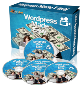 WordPress Made Easy Video Set With Mrr