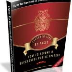 Free Public Speaking MRR Ebook