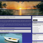 Free Wordpress Sunset Theme