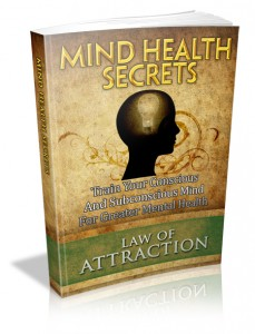 Mind Health Secrets MRR Ebook