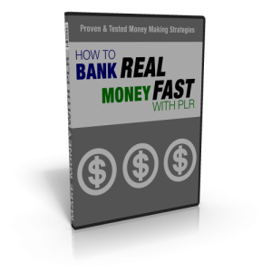 How To Bank Real Money Fast With Plr – Video Set With Mrr