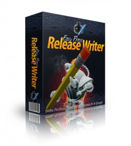 Easy Press Release Writer with Master Resell Rights