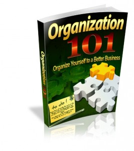 Organization 101 With Master Resell Rights