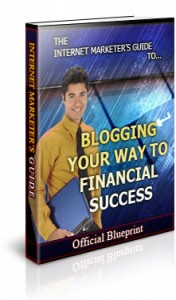 Blogging Your Way To Financial Success – Ebook With Rr