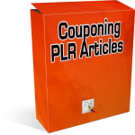 Couponing-PLR-Articles