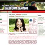 Ballroom Dancing Wordpress Theme