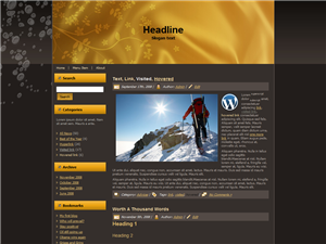 Unrestricted PLR WordPress Theme