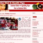 Better Diet & Health Theme