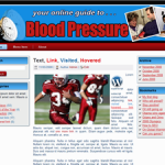 Blood Pressure Wordpress Theme
