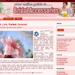 Bridal Accessories Word Press Theme