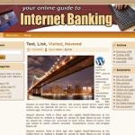 Internet Banking Wordpress Theme