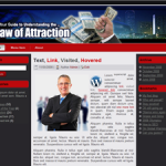 Law of Attraction Wordpress Theme