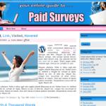 Paid Surveys Wordpress Theme