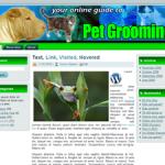 Pet Grooming Wordpress Theme