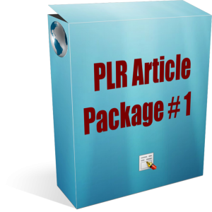 154 PLR Articles Package 1