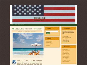 PLR Flag WordPress Theme