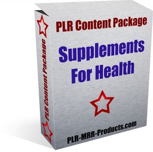 Supplements-Health-PLR-Health