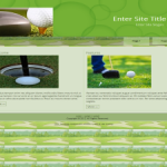 PLR Wordpress Golf Theme