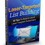 Laser Targeted List Building