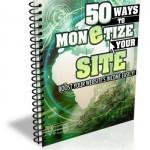 Monetize Website Ebook