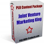 Joint Venture PLR Content