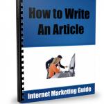 Write-Article-Ebook