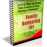 Family Budgeting PLR