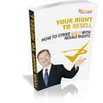 Resell Rights Ebook
