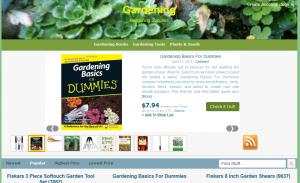 Amazon_Gardening_PLR_Blog
