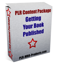 Getting Your Book Published PLR