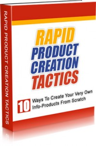 Content Product Creation Ebook