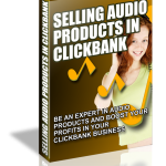 selling audio products clickbank