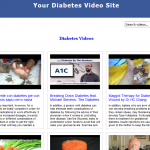 Diabetes_Video_Site_Builder