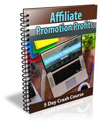 Affiliate Promotion Profits PLR Ecourse