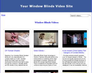 Window-Blinds-Video-Site-Builder