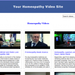 homeopathy_video_site_builder