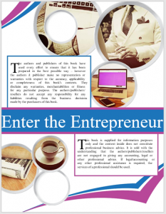 Enter The Entrepreneur