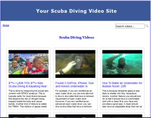 ScubaDivingVideoSiteBuilder