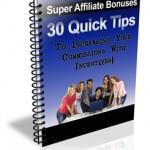 PLR 90 Quick Tips