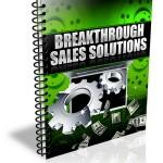 Breakthrough Sales Solutions PLR Report