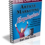 Article Marketing Explosion