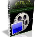 Articles Into Videos PLR Report